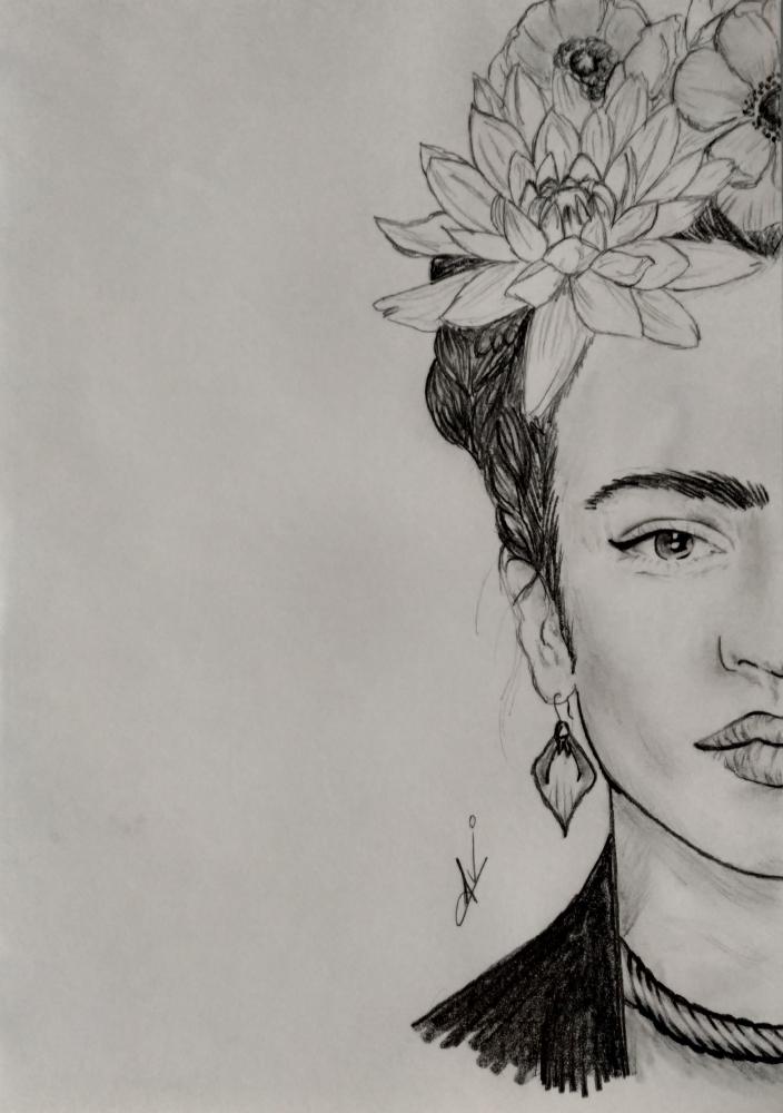 Frida Kahlo por Nereaaj